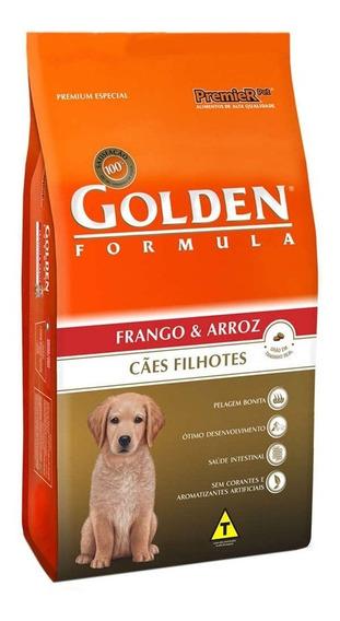 Ração Golden Para Cães Filhotes Frango 15kg - Premier Pet