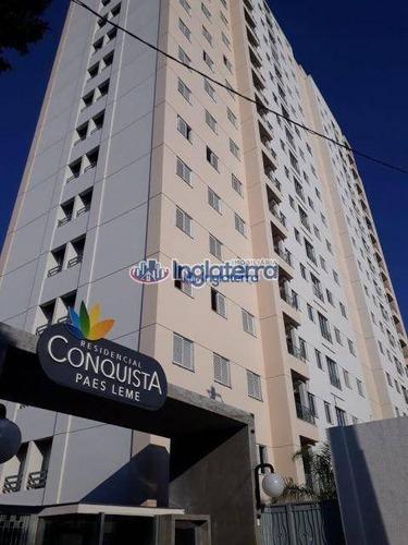 Apartamento À Venda, 67 M² Por R$ 290.000,00 - Vila Brasil - Londrina/pr - Ap0231