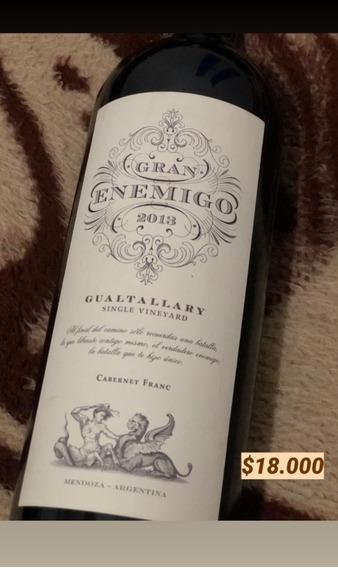 Vendo! Lote De Vinos Premium! Se Venden Vinos Únicos!