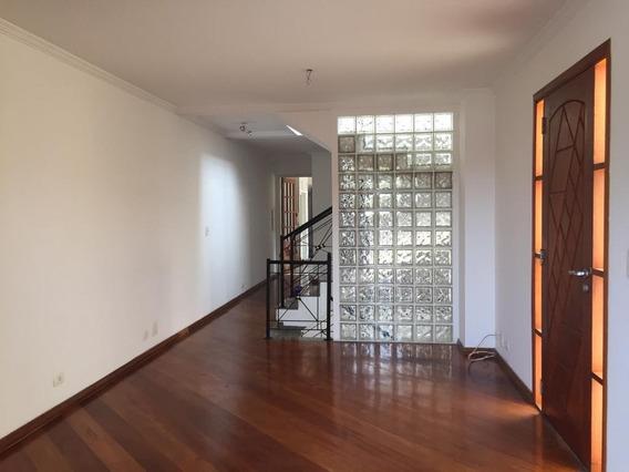 Ótima Casa Para Locação Com 3 Suítes, 3 Vagas, Churrasqueira Na V.madalena. - Ca0554