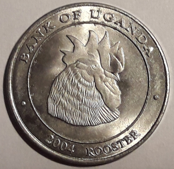 Uganda Moneda Horoscopo Chino - Gallo - Sin Circular