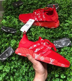46f8a4906 Tenis Adidas Nmd Vermelho - Adidas para Masculino no Mercado Livre ...