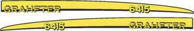 Adesivo Personalizar Trator John Deere 6415