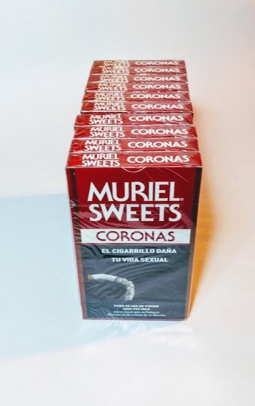 50 Cigarros Muriel Sweets Corona (pack 10 Cajas X 5)