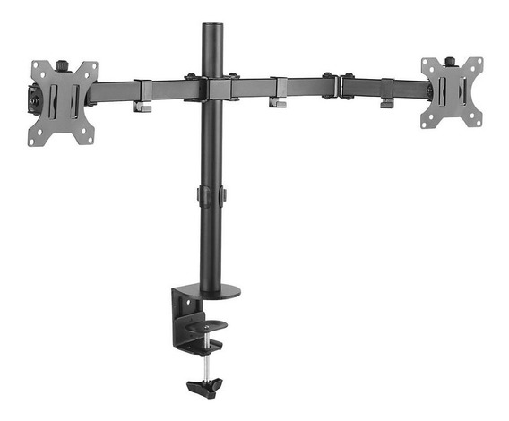 Suporte Para Monitor Duplo 15 A 32 Articulado De Mesa T1224c