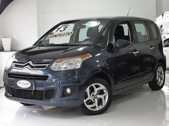 Citroën C3 Picasso 1.5 Flex Glx Manual 2013 Azul