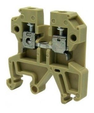 Borne Conector Sak 2,5 Bege Conexel C018986.0100 Kit 30 Pçs