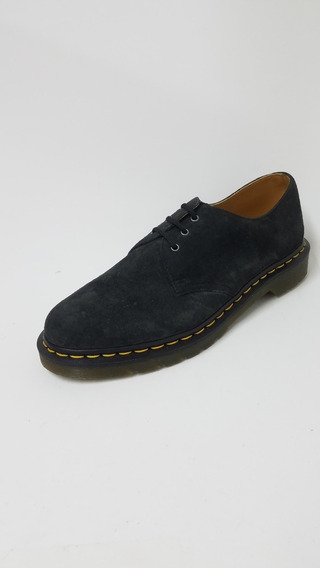 Zapato Dr Martens Gamuza Gris Grafito Hombre