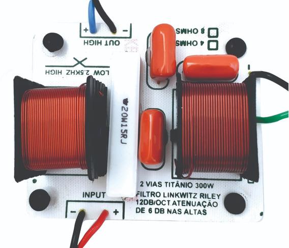 Kit 4 Unid.divisor De 2 Vias 300w Full Range