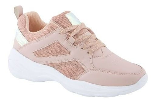 Tenis Casual Pink Mujer Hb1583