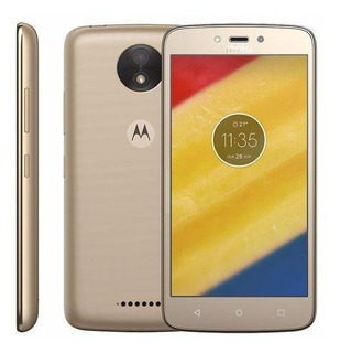 Motorola Moto C Plus Xt1726 - 8gb, 8mp, 4g, Dual, Tv - Novo