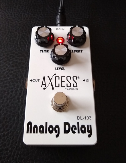 Pedal Analog Delay Axcess True By Pass Pra Guitarra