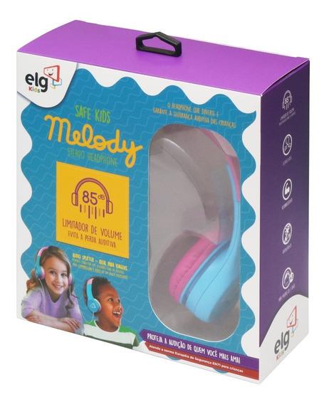 Headphone Estereo Com Limitador De Volume - ELG Kids