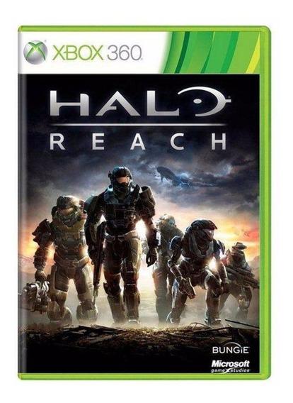 Jogo Halo Reach Original Xbox 360 E Xbox One Mídia Física Lacrado