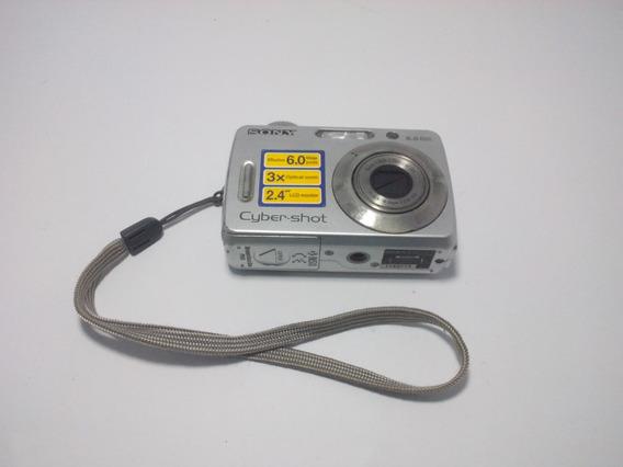 Câmera Digital Sony Cyber-shot 6mp Dsc-s500 (c/ Defeito)