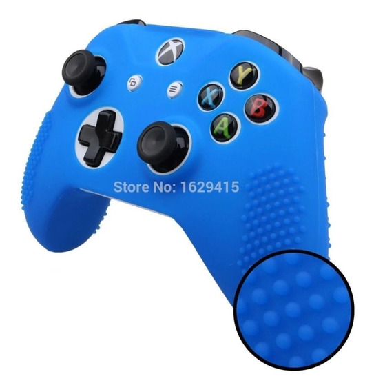 2 Capas Silicone Controle Xbox One S E X Capinha Protectora