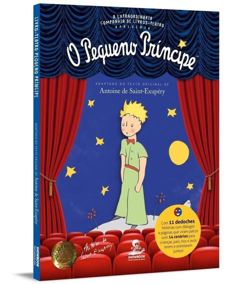 Pequeno Príncipe - Livro-teatro Com Dedoches E Cenários