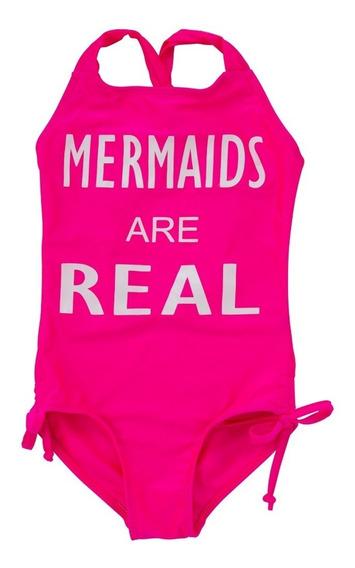 Traje De Baño Mermaids123 Are Real Pink
