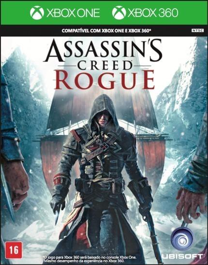 Assassins Creed Rogue Xbox One - Xbox 360 Física - Português