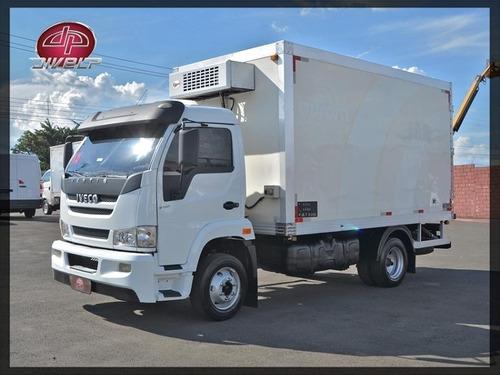 Caminhão Com Baú Refrigerado Iveco Vertis 90v16 2012