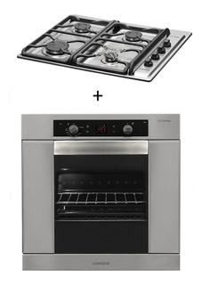 Combo59 Gas Longvie Horno H6900x + Anafe A6600xf
