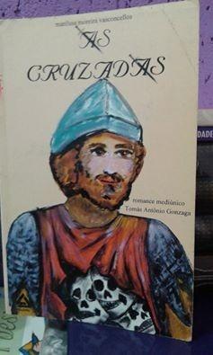 Livro- As Cruzadas- Romace Mediúnico- Raridade---+ Brinde --