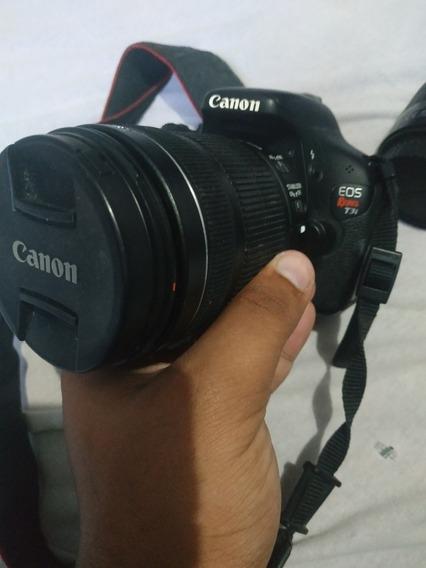 Canon T3i + Lente 18-55 + 6 Cartões De Memória