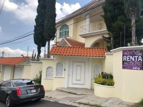 Casa En Renta Villas Del Mesón