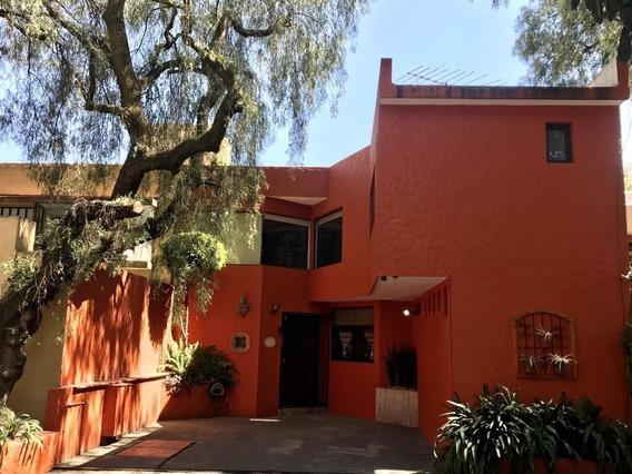 Preciosa Casa En Calle Tranquila Tepepan