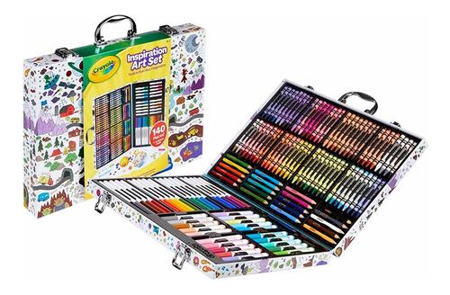 Maletin Crayola C/accesorios Para Colorear 140pzas | Xenex |