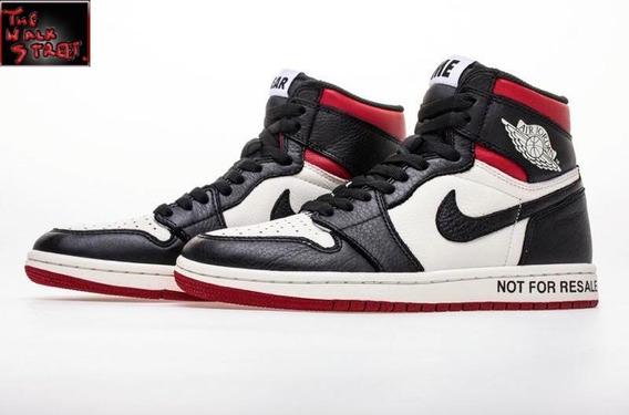 Nike Air Jordan Retro High Og Nrg Not For Resale Red Mujer