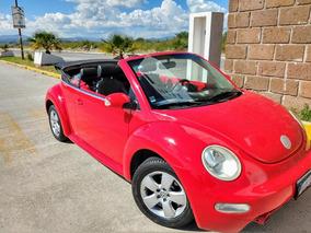 Volkswagen Beetle Cabrio Convertible Piel Nacional