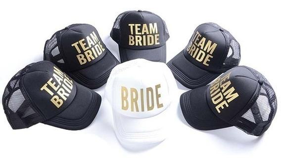 Gorras Bride Team Bride Despedida De Soltera Novia