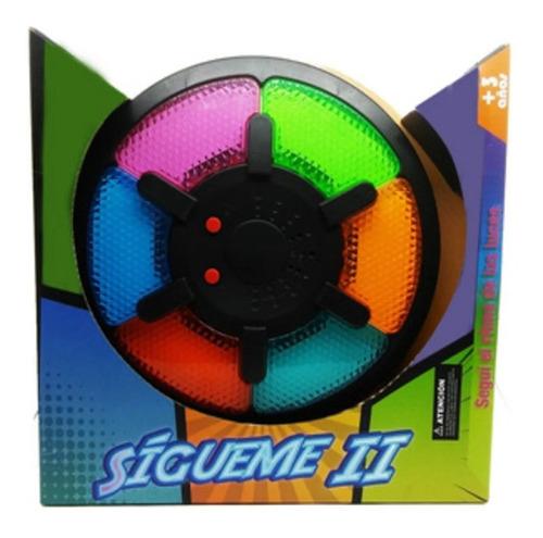 Imagen 1 de 2 de Memoria Sigueme Juego Tipo Simon 6 Colores 179929 Edu Full