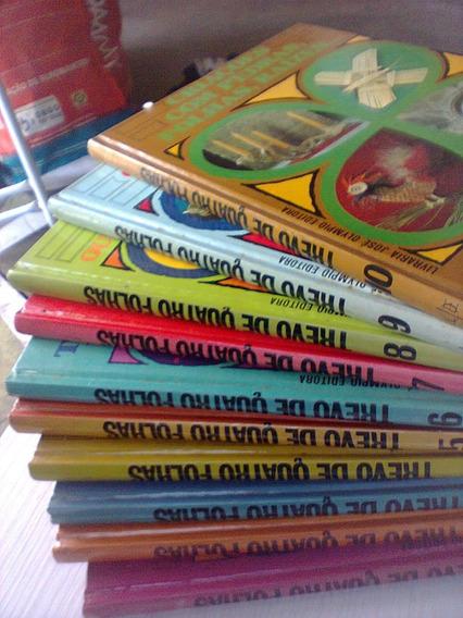 Coleção Em Nove Volumes Trevo De Quatro Folhas - José Olympi