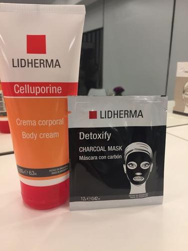 Promo Celluporine + 2 Charcoal Mascaras De Carbón - Lidherma