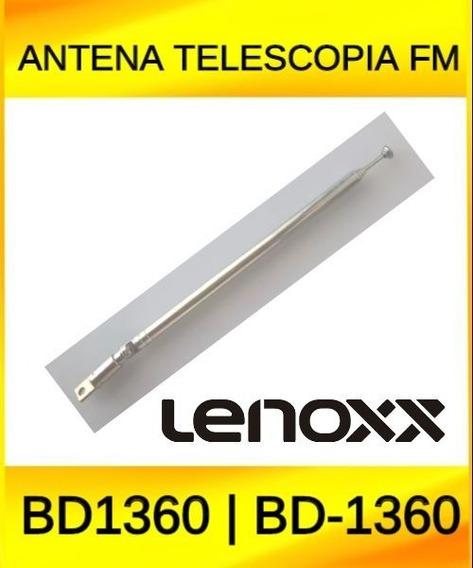 Antena Telescopia Fm Rádio Lenoxx Bd1360 | Bd-1360 Original