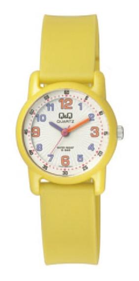 Relógio Infantil Masculino Amarelo Prova D