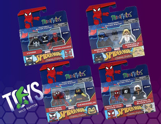 Marvel Minimates Wave 76 Set Of 4 Two-packs
