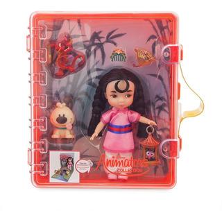 Disney Store Maletín Mulán Animators Mini Accesorios 2018