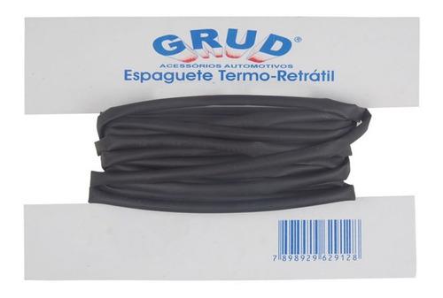 Termo Retratil Tubo Espaguete Termo Retrátil 6,4mm 1/4  - 1m