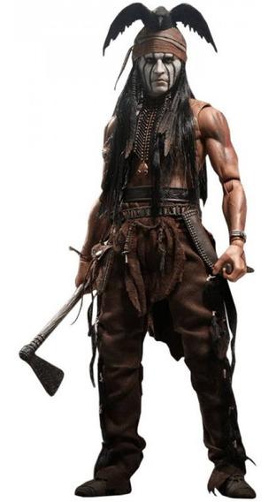 Hot Toys Johnny Depp The Lone Ranger Tonto Boneco Figura