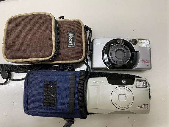 Maquinas Fot Canon Sure Shot Zoom E Canon Prima 200m Shot