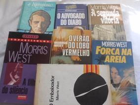 Morris West Lote Com 7 Livros P/ Vender Rápido Muito Barato