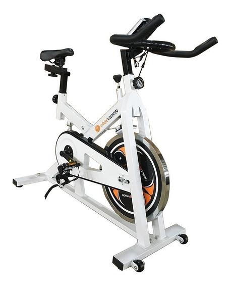 Bicicleta Spinning Profesional Amortiguador Piñon Fijo Pulso