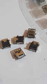 Kit 50 Conector De Carga Tablet Gps Mp3 V3 5 Pinos A