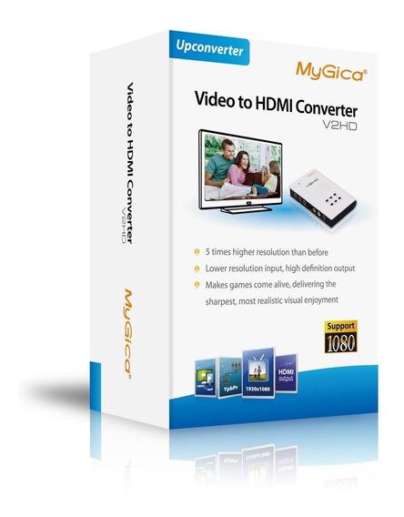 Mygica V2hd Conversor De Vídeo Para Hdmi