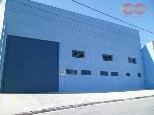 Galpão - Parque Industrial San Francisco - Ga0009