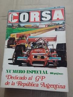 Revista Parabrisas Corsa 249 Debut Reutemann Formula 1