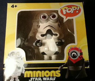 Funko Pop Fake Star Wars Despicable Me